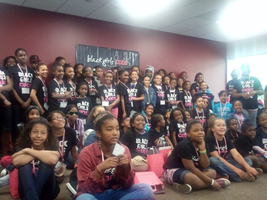 Black Girls Code - Build a Webpage - Oakland